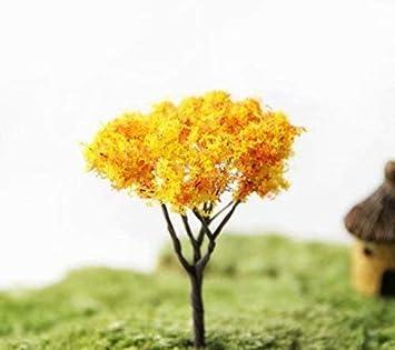 4 piezas miniatura de hadas de jardín adorno de árboles DIY casa de mu?ecas maceta decoración del hogar: Amazon.es: Bricolaje y herramientas