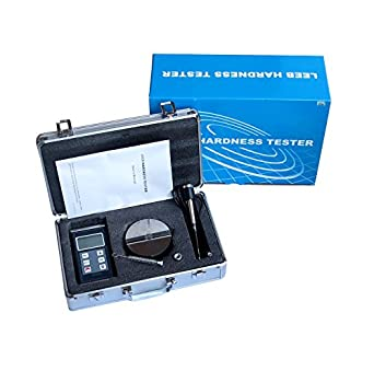 byqtec hm-6580 portátil Leeb dureza Tester Medidor Con 170 – 960 HLD metales durometer