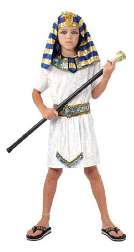 Ancient History Costume (Pams Little Boys' Egyptian Pharaoh Fancy Dress Costume Small)
