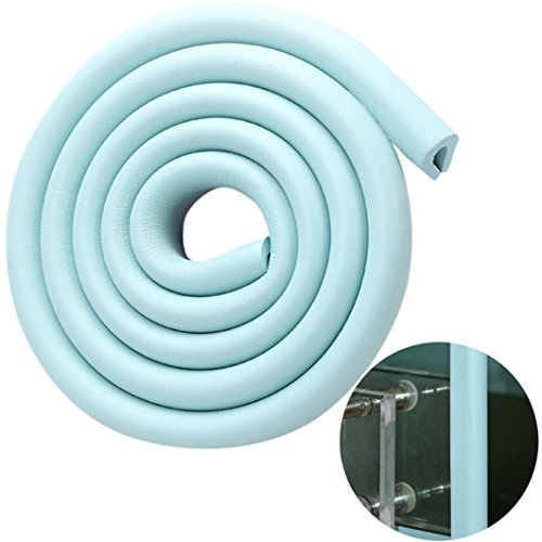 Price comparison product image Baby Proofing Edge Protector Safety Child Baby Corner Guards Furniture Bumper Table Protectors (Light Blue)