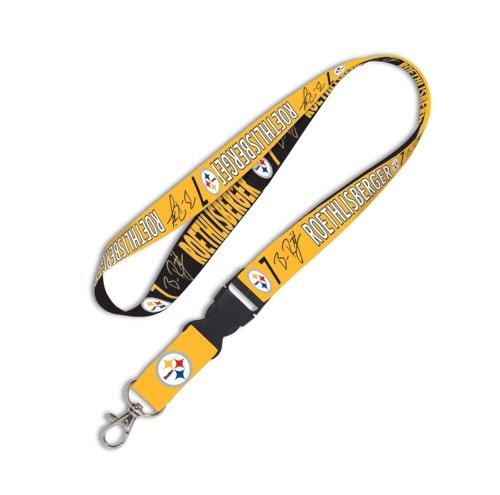 Buckle Steelers (NFL Pittsburgh Steelers 78899012 Lanyard with Detachable Buckle, 1