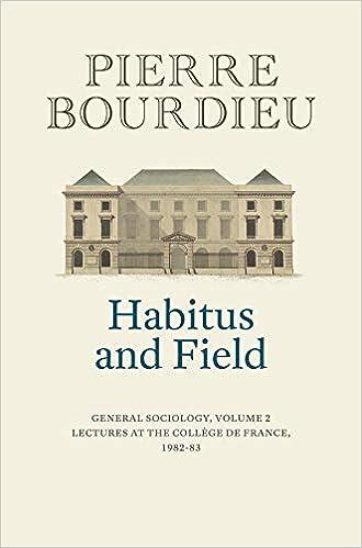 Habitus Bourdieu