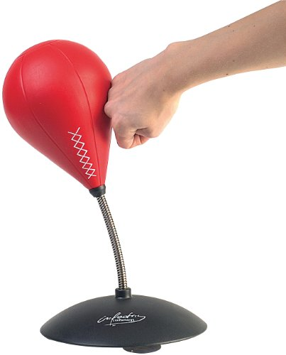infactory Tisch-Punching-Ball mit Sound