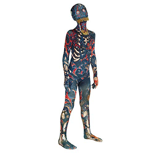 Morphsuits Kids Burnt Zombie Monster Costume - Small 3'-3'5 / 6-8 Years -