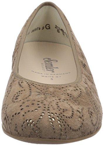 Camel Ballet gold 146 Women's Braun Semler Flats Nancy xw7COvnq6