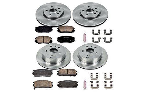 (Autospecialty (KOE5516) Daily Driver OE Brake Kit, Front and Rear)