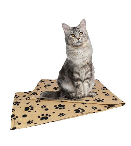 Pet-Blanket-Large-60x39-for-Dogs-Cats-of-All-Sizes-2-BONUS-eBooks-Lightweight-For-Cars-Pet-beds-Sofas-Lap-Serve-as-Hair-Barrier-Sewn-Hem-Wont-Fray-Machine-Washable-Easily-Folded