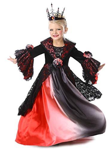 Utz Girl Costumes - Princess Paradise Valentina Vampire Costume, Multicolor,