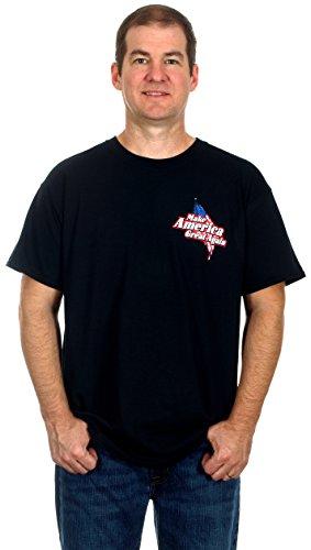 TRUMP Biker Make America Great Again TBFO Men's Humorous T-Shirt (Medium)