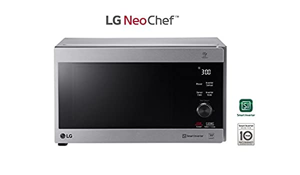 LG mh7265cps Horno Microondas Inverter con grill Capacidad ...