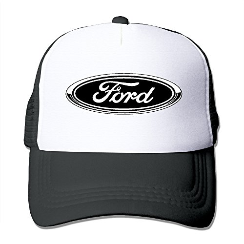 MYDT1 Unisex Ford Logo Classic Mesh Back Trucker Cap Hat (Fast And Furious 1 7 In Order)
