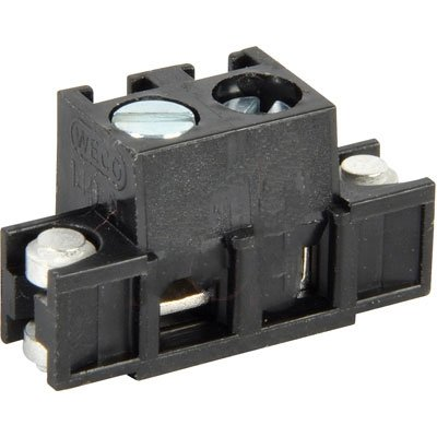 WECO 140-A-126-SMD/02 , Terminal Block; 2-Pos.; SMT; 5 mm pitch; with floating anchors; 6 mm strip L