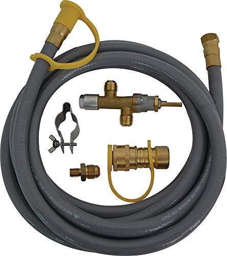 (Bond Manufacturing 50492, 50K BTU Natural Gas Conversion Kit, Grey)
