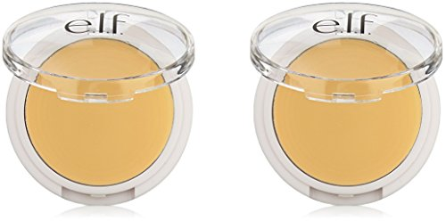 e.l.f. Cover Everything Concealer, Corrective Yellow, 0.14 Ounce, 2 Pack