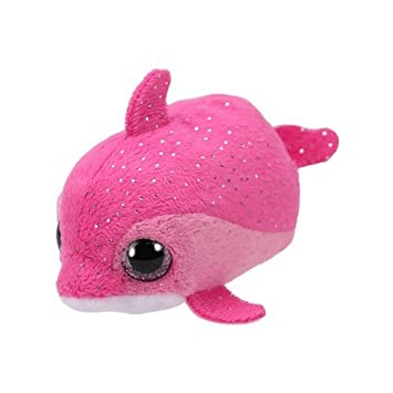 Ty Floater Peluche delfín, Color Rosa (United Labels Ibérica 42314TY)