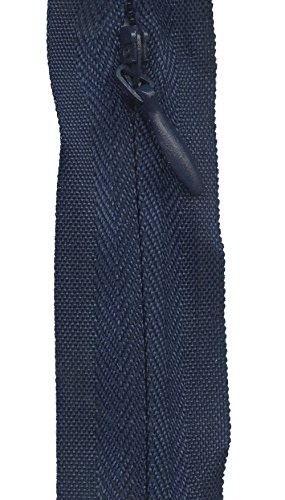 Sullivans Invisible Make-A-Zipper Kit, 4-1/2-Yard, Navy