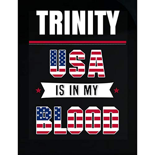 (Inked Creatively Trinity USA in My Blood Independence Day Gift - Sticker)