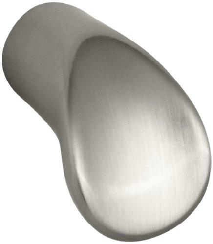 Kohler K-11284-BN Forté Cabinet Knob, Vibrant Brushed Nickel