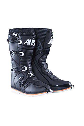 Antwoord 461862 Ar-1 Boots (white, 14) Black