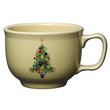 Fiesta 18-Ounce Jumbo Cup, Christmas Tree