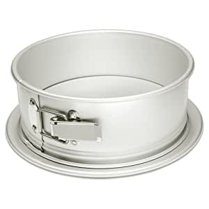 Fat Daddio's Anodized Aluminum 8 Inch x 3 Inch Round Springform Cake Pan