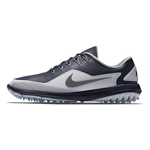 - NIKE Men's Lunar Control Vapor 2 Golf Shoes, Thunder Blue/Reflect Silver-White, 10 M US