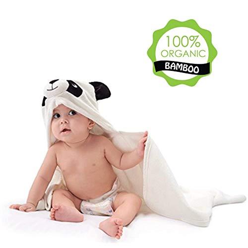 Baby Towel with Hood - 100% Organic Bamboo Hooded Panda Towel - Lilgoo by LilGoo (Image #7)