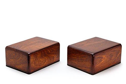 Traveler Handstand Blocks (2 ultralight non-slip wooden blocks) by Karel Woodworking