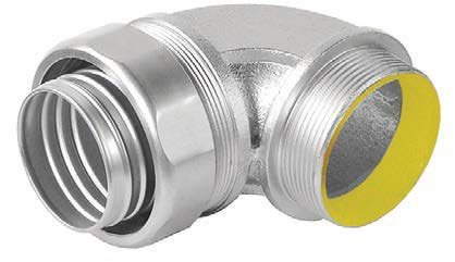 1-1/4 Inch Stainless Steel 90 Degree Liquid-Tight Connector-1 per case
