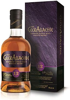 THE GLENALLACHIE 12YO Single Malt Whisky 70CL 46% - 700 ml