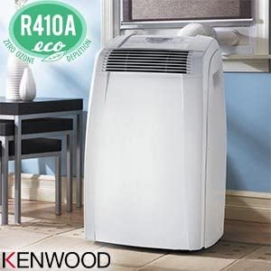 Amazon Com Kenwood Pac C130ek 13 000 Btu Portable Room Air Conditioner Cools Up To 400 Sq Ft Electronic Controls With Lcd Display Dehumidifier Function Home Kitchen