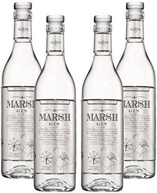Ginebra Marsh Gin de 50 cl - Bodegas Barbadillo (Pack de 4 ...