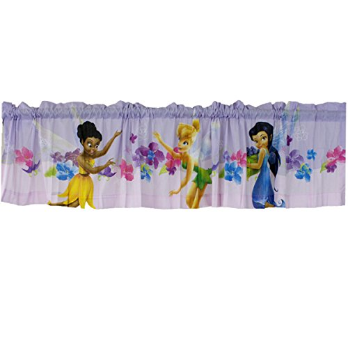 Disney Fairies Window Valance Tinkerbell Art of Magic Window Treatment ()
