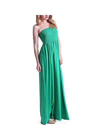 Tina Vent Beautiful Women's Strapless Dress Plus Size Tube Top Long Skirt Sundress Cover Up - Wheelock Place