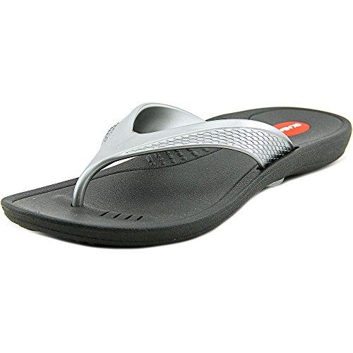 Marina Silver Flip Okabashi Black Flops 41T8qqdn