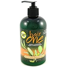Hair One Hair Cleanser & Conditioner Jojoba for Colored Hair 12 oz. (Pack of 3)