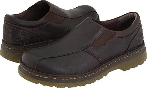 Dr. Martens Men's Tevin Slip-On Shoe,Dark Brown,10 UK (US Men's 11 M) ()