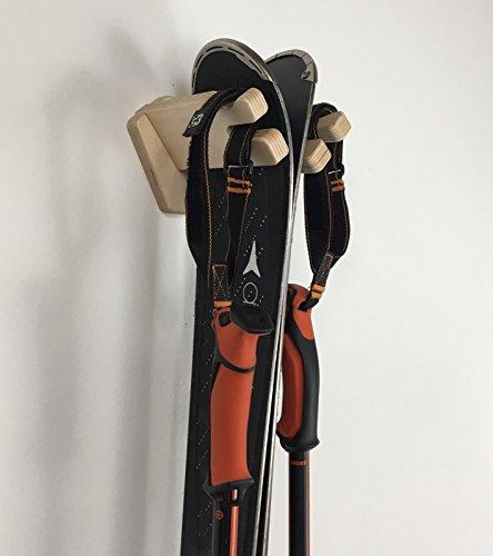 Veritcal Single Ski Wall Rack by Pro Board Racks