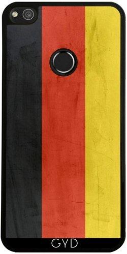 Funda de silicona para Huawei P8 Lite 2017 - Bandera De Alemania by wamdesign