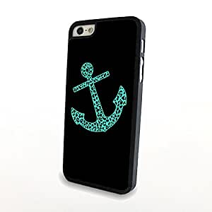 Green Anchor Hot Fashion Sailor Anchor Vintage Hard Case Cover Skin For Candy Case - iPhone 4 4S