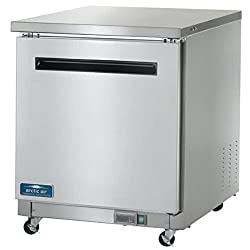 "Arctic Air Auc27f 27"" Undercounter Freezer - 6.5 Cu. Ft."