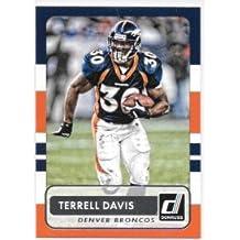Terrell Davis 2015 Donruss Denver Broncos Card #185
