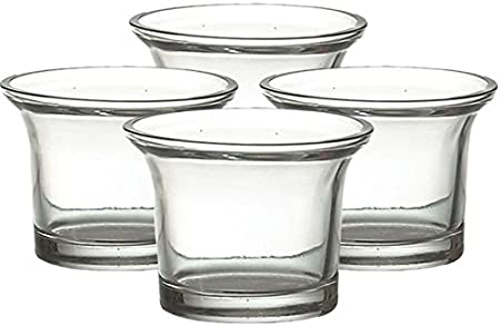 12 verres /à bougie chauffe-plat
