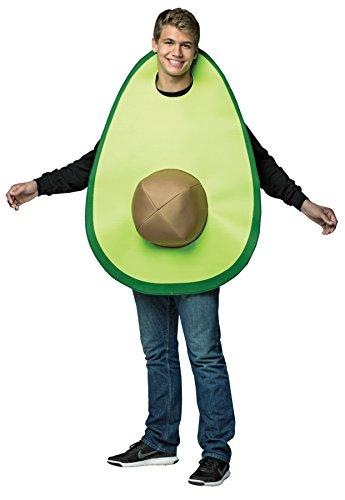 Rasta Imposta Men's Avocado Tunic Funny Theme Party Outfit Halloween Fancy Costume, OS (38-47)