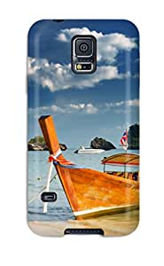 New Arrival Premium Galaxy S5 Case(boat)