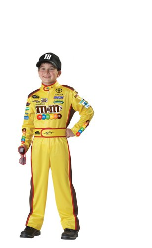 California Costumes Nascar Kyle Busch Child Costume, Medium
