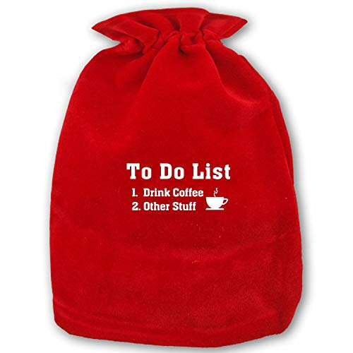 to Do List Drink Coffee Drawstring Bags Party