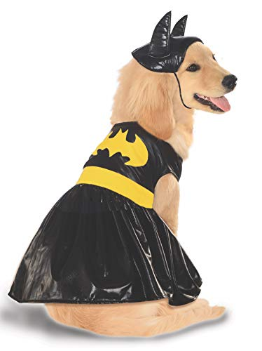DC Comics Pet Costume, Medium, Batgirl]()