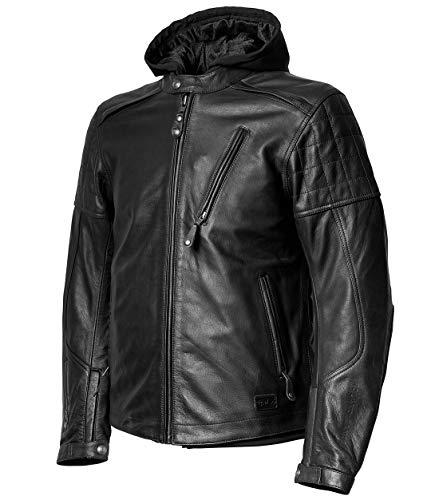 Roland Sands Design Jagger Leather Jacket Black X-Large (More Color and Size Options)