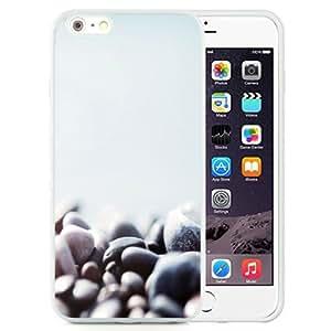 NEW Unique Custom Designed iPhone 6 Plus 5.5 Inch Phone Case With Stone Pebbles Macro Lockscreen_White Phone Case